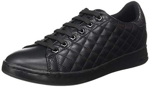 Geox D Jaysen D, Zapatillas Mujer, Negro (Black C9999), 36 EU