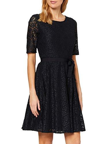 Taifun Womens 581007-19609 Casual Dress, Navy, M