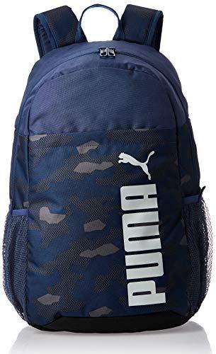 PUMA Style Backpack Mochila, Adultos Unisex, Dark Denim (Azul), Talla Única