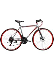 Fitness Minutes Road Bike, Size 26,COMT-1-Grey/Red