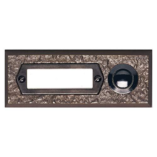 REV 0504360555 Türklingel, Klingel (Metall) mit Schild, max.42V AC/DC bei 2A, Bronze