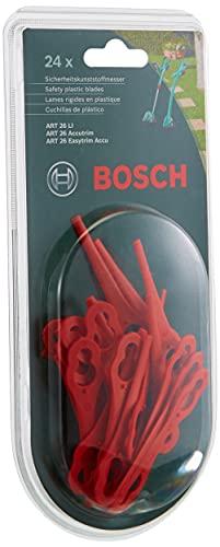 Bosch Home and Garden F016800183 Kunststoffmesser für Akku-Rasentrimmer, rot