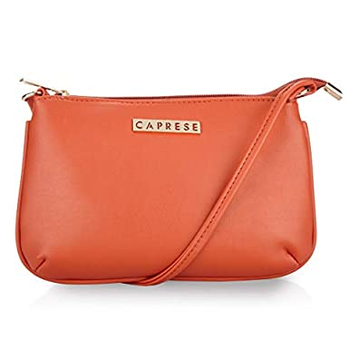 Caprese Women's Sling Bag (Orange)