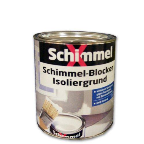 Pufas SchimmelX Schimmel-Blocker Isoliergrund weiß 750ml Sperrgrund gegen Schimmel