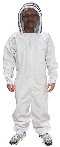 MANN LAKE Economy Beekeeper Suit with Self Supporting Veil, 2X-Large