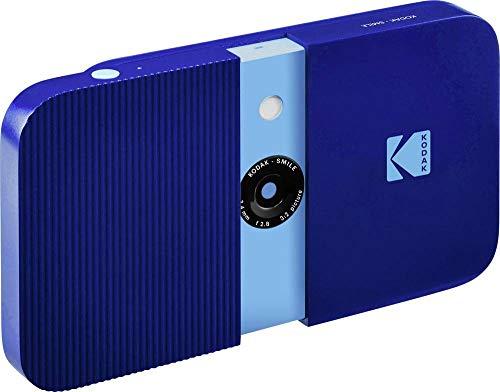 Kodak Kit Máquina Fotográfica Instantânea Smile Blue