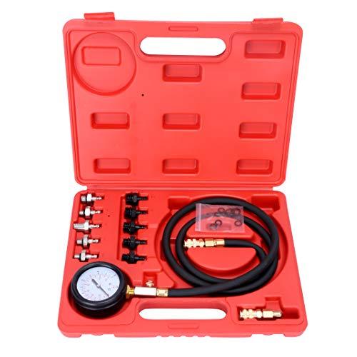 FreeTec - Set di Tester per Pressione dell'olio Compatibile con VW Opel Ford BMW Fiat