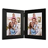 Giftgarden 3.5x5 Double Picture Frame With Clear Glass Display 5x3.5 Photo