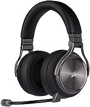 Corsair CA-9011180-NA Virtuoso RGB Wireless Se Gaming Headset - High-Fidelity 7.1 Surround Sound W/ Broadcast Quality Microphone - Memory Foam Earcups - 20 Hour Battery Life – Gunmetal (Renewed)