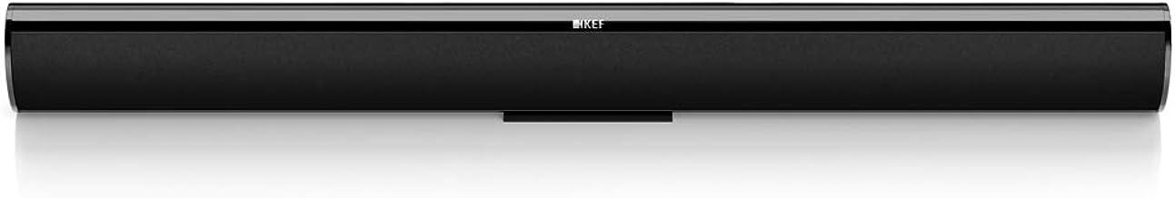KEF HTF7003 Sound Bar Speaker Black