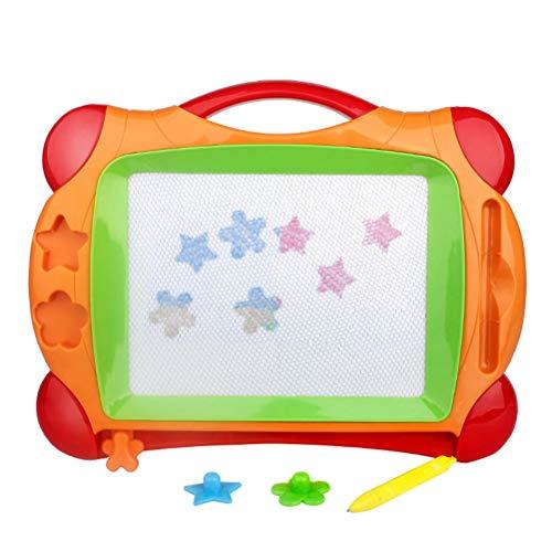 Yissma Tableau magnétique effaçable à Sec pour Enfant Multicolore 12,79 x 9,25 Pouces
