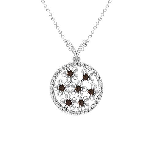 Rosec Jewels 14 quilates oro rosa round-brilliant-shape H-I Diamond