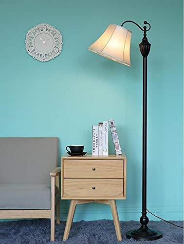 Stehlampe minimalistische Wohnzimmer Stehleuchte Schlafzimmer amerikanischen Continental Eisen Vertical Retro-Sofa Studie Lampe,C
