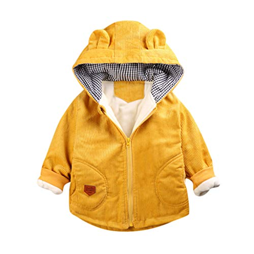 Allence Jungen Funktionsjacke mit Fleecefütterung warm wasserdicht Winddicht atmungsaktiv Kinder Baby Regenjacke mit Kapuze Übergangsjacke
