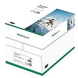 Tecno Pure, Papel reciclado, 100 % reciclado, blanco, 80 g, A4, FSC, cartón de 5 x 500 hojas