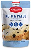 LOW CARB AND NO ADDED SUGAR: Miss Jones Baking Co.'s Blueberry Muffin Mix contains 0g added sugar and only 4g net carbs GLUTEN AND GRAIN FREE: Made with almond flour for a naturally gluten and grain free treat MOIST AND DELICIOUS: With Miss Jones Bak...