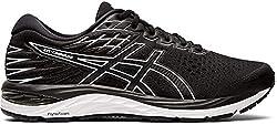 ASICS Men's Gel-Cumulus 21 Running Shoes, 15M, Black/White