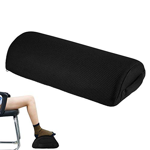 WEIZI Footrest under the desk high density sponge Ergonomic footrest cushion Footstool foam foot cushion for improved posture and stress relief when traveling in the office and at home
