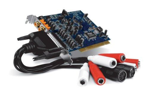 Pinnacle Audiophile 192 Interno 5.1channels PCI - Tarjeta de Sonido (5.1 Canales, 24 bit, -113 dB, 24-bit/192kHz, 20-20000 Hz, PCI)