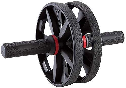 Zhihao NO Logo Ab Roller Rad Bauch-Übung Männer Startseite Folding Fitness Bauch Mute Bauch Rad for Abs Workout Ab Roller Rad Übungs-Ausrüstung (Color