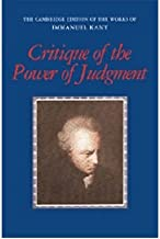 [(Critique of the Power of Judgment)] [Author: Immanuel Kant] published on (August, 2008)