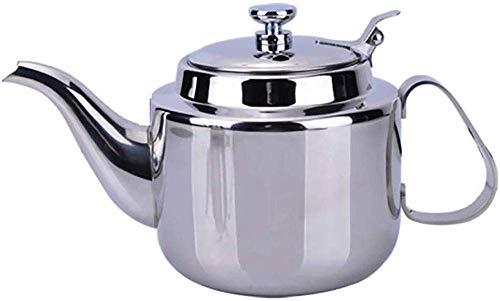 DZNOY Potes de té Tetera Tetera Tetera Acero Inoxidable Kettle Kung Fu Tetera Tetera Disponible Cocina de Inducción Tetera (Size : 800ML)
