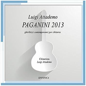 Luigi Attademo: Paganini 2013 ghiribizzi contemporanei per chitarra