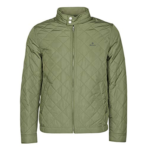 GANT THE QUILTED WINDCHEATER Jacks/Blazers hommes Kaki - S - Wind jackets
