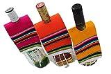 Sarape Artesanal Para Botellas (Set de 6 Piezas)