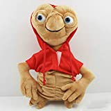 yuanchuang Peluche Alien Soft Stuffed Plush Doll con Capucha Anime Cartoon Collection Toy Rojo Gris ...
