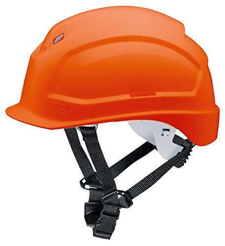 Casco de Obra Pheos S-KR - Protección en el Trabajo - Protección de la Cabeza - Casco de Seguridad con Adaptadores Laterales Euroslot para Orejeras ✅