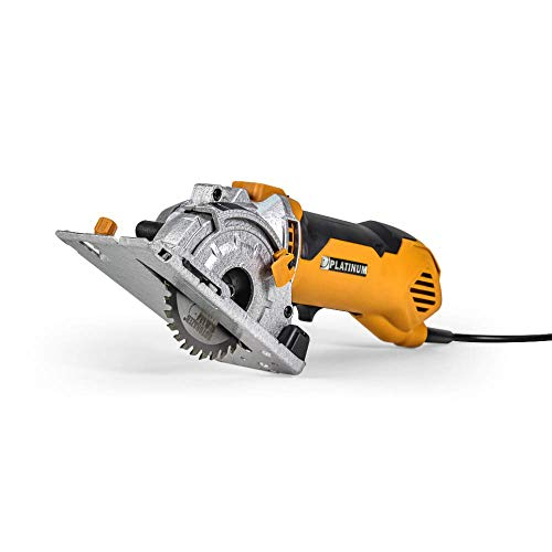 Rotorazer Platinum Compact Circular Saw Set - Extra Powerful - Deeper Cuts! DIY Projects - Cut Drywall, Tile, Grout, Metal, Pipes, PVC, Plastic, and Copper. AS SEEN ON TV!