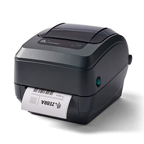 Zebra GK420t Thermal Transfer Desktop Printer Print Width of 4