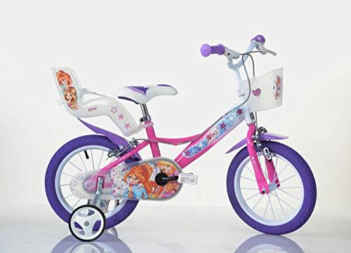 bicicletta 44 gatti dino 164R-WX7 - Bicicletta Winx 16