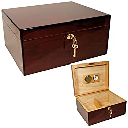 commercial cuban crafters humidors Cuban Crafters Rosewood Amor425 Cigar Humidor, 50 Pieces