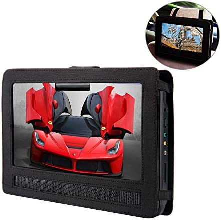 YOOHOO Tablet Car Headrest Mount Holder for Swivel Flip Style Portable DVD Player 14 inch product image