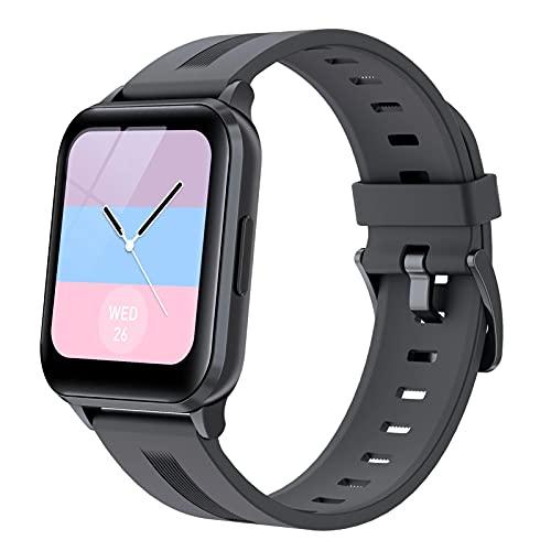 XYG 1.69 Pulgadas Pantalla Completa Reloj Inteligente Y79T IP68 Hombre Smart Watch Pulsera de la Salud de Las Mujeres Tracker,A