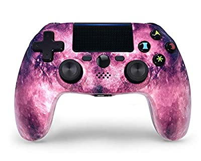 PS4 Controller Wireless Bluetooth Gaming Controller DS4 Double Vibration Gaming Joystick with Touch Pad High-Precison Joystick for Playstation 4 / PS4 Pro/Slim