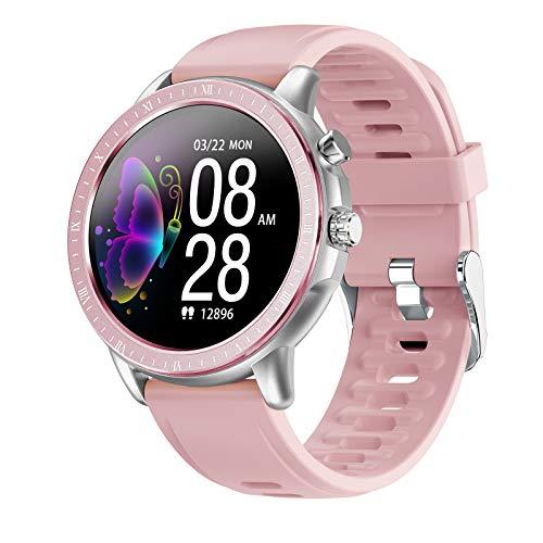 HQPCAHL Reloj Inteligente Hombre, Hommie Smartwatch Hombre de Pantalla Táctil Ccompleta Impermeable IP67, Pulsera de Actividad Inteligente con 23 Deportes, Pulsómetro,Sueño, iOS y Android,D