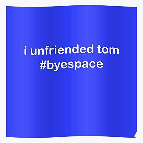 Coolboy Snapchat Facebook Twitter Myspace Tinder Tom Instagram Unfriend Das eindrucksvollste und stilvollste Poster für Innendekoration, das derzeit erhältlich ist