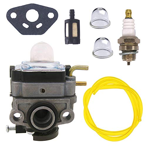 FitBest Carburetor Carb for Ryobi RY251PH RY252CS RY253SS RY254BC 2 Cycle 25cc Brush Cutter Trimmer