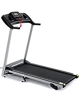 Folding Treadmill Running Machine 17  Wide Electric Treadmill 3 Levels Manual Incline 1.5 HP Power Easy Assembly for Home Use