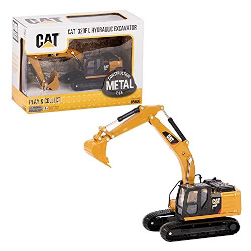 Diecast Masters 85606 Caterpillar 320F L - Vehículo de construcción en Caja con Ventana, Escala 1:64, Aprox. 14 x 5 x 7,8 cm, a Partir de 8 años, Adecuado para coleccionistas y como Regalo