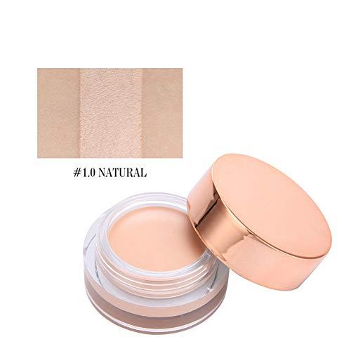 Allbesta Base de fard à paupières pour le maquillage des yeux Couleurs Nues Crème Naturelle