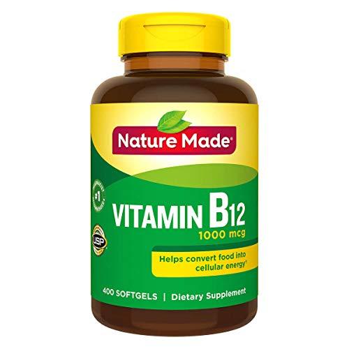 Nature Made Vitamin B-12 1000 mcg - 400 Softgels