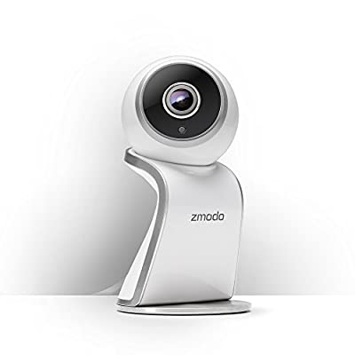 Zmodo Sight 180 Wireless Security Camera, 180 Degree Viewing Angle Full HD 1080p Resolution - Works with Alexa