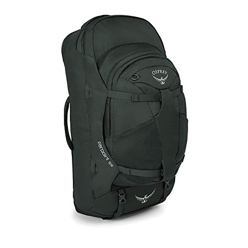 Osprey Packs Farpoint 55 Men's Travel Backpack, Volcanic Grey, Medium/Large