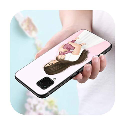 Funda de silicona para Huawei P Smart Z S Plus 2019 2020 Nova 2i 2 Lite 3 3e 4 4e 5 5i 5T 7i Teléfono Case Style 09-P Smart Plus 2020