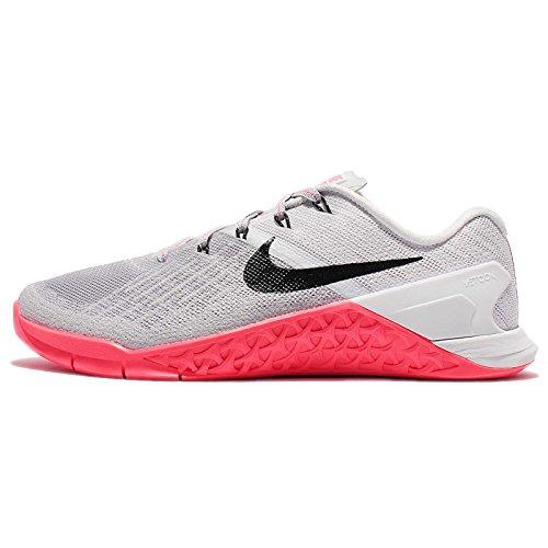 Nike Women's Flex Trainer 6 Running Shoes (10, Wolf Grey/Platinum)