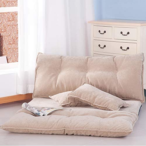 Best Yizero Bed Floor Sofa - Fabric Floor Couch Lounge with 5 Adjustable Reclining Position